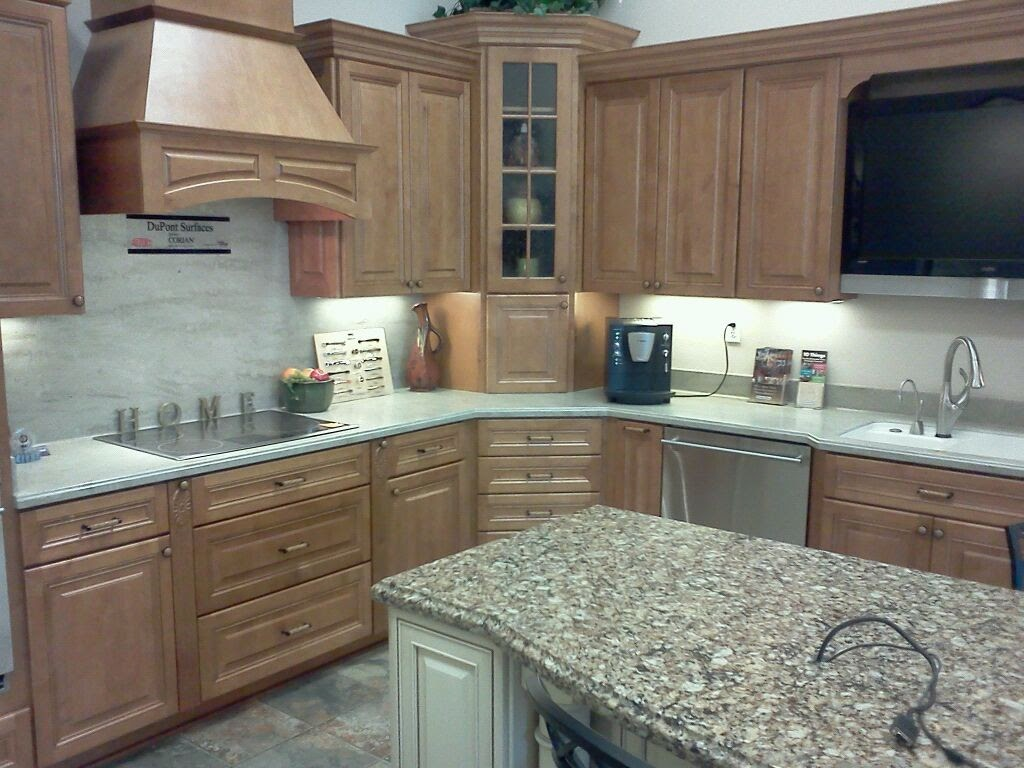 cheap unfinished cabinets for kitchens natural cherry kitchen home depot cabinets. finest ...