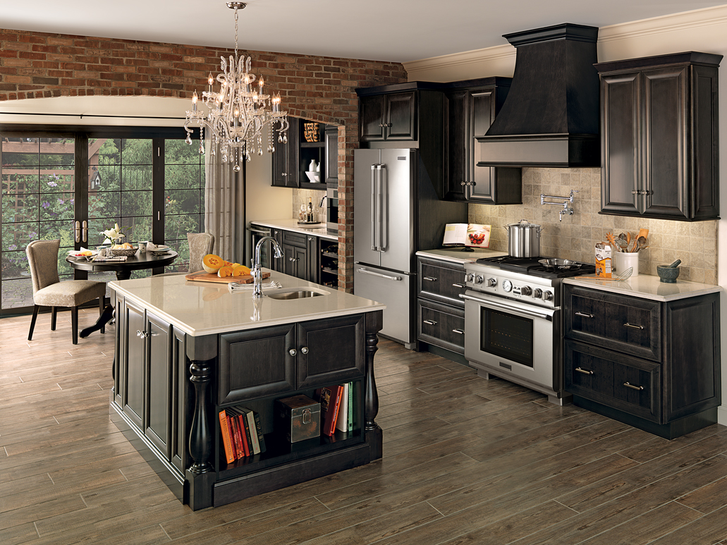 kitchen hutch cabinet short curtains for the detail merillat cabinets home and