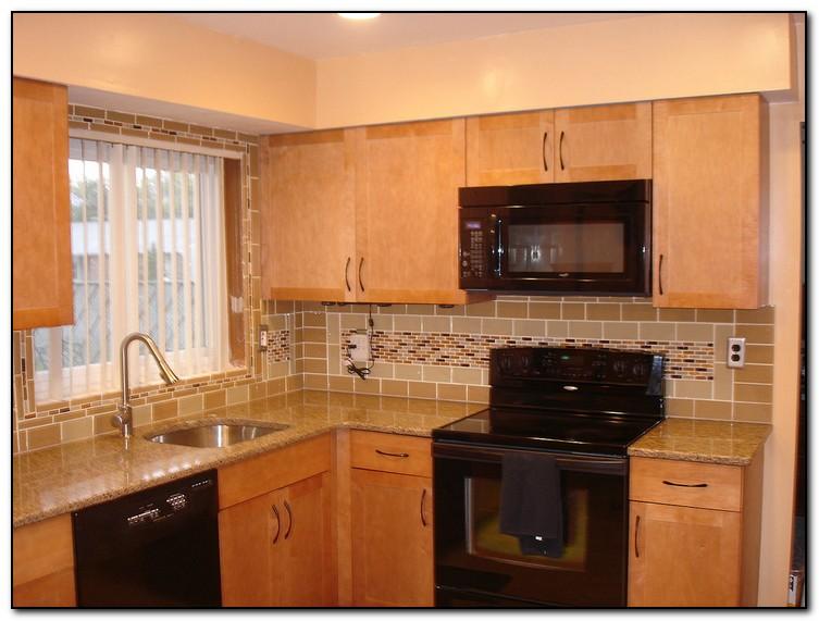 cheap kitchen remodels moen faucet a hip tile backsplash design | home and cabinet ...