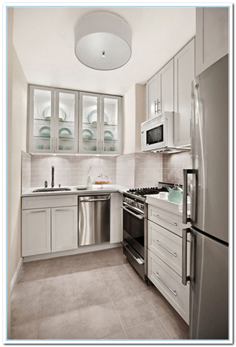 Information on Small Kitchen Design Layout Ideas  Home and Cabinet Reviews