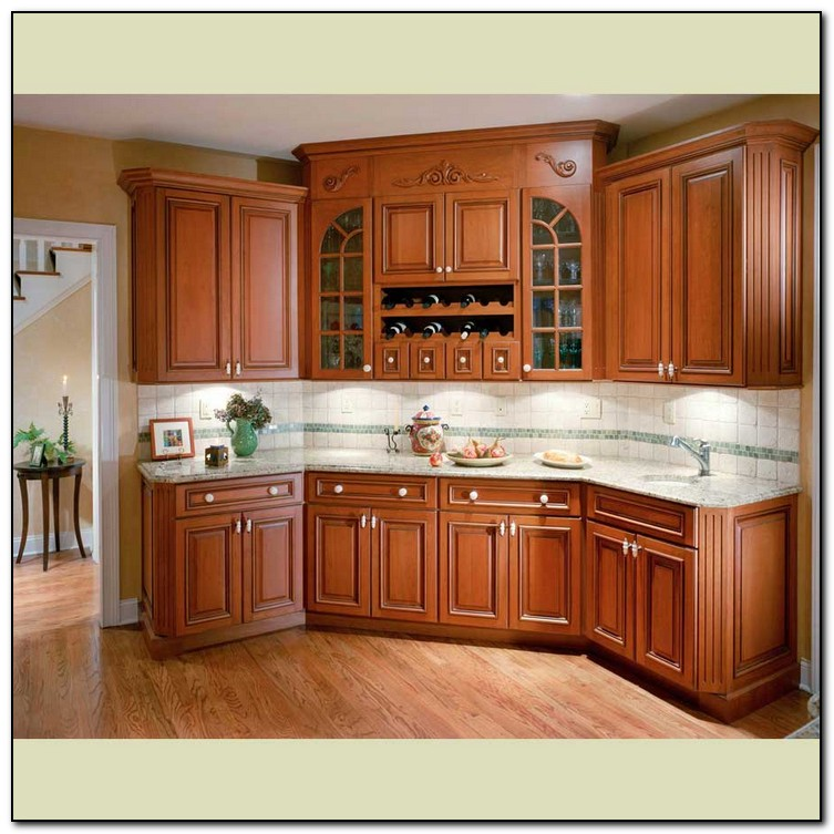 A Discussion of Kitchen Wood Cabinets  Home and Cabinet