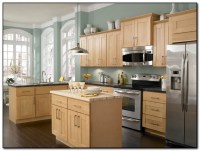 Employing Light Color theme in Kitchen Cabinets Design ...