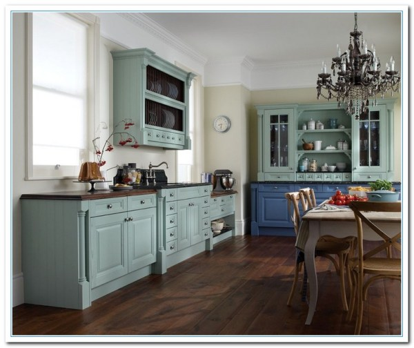 painted kitchen cabinet ideas Inspiring Painted Cabinet Colors Ideas   Home and Cabinet Reviews