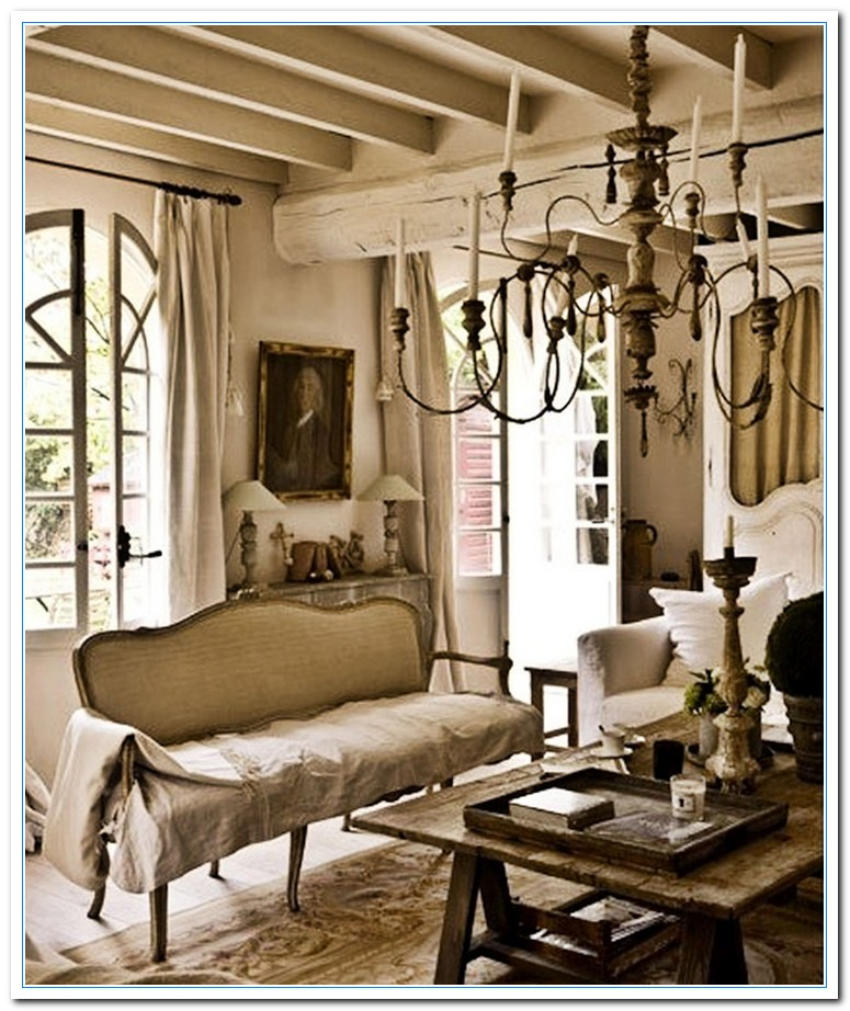 French Country Cottage Style Decorating