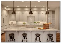 single pendant lighting over kitchen island  Home and ...
