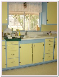Yellow and Blue Kitchen Ideas | Home and Cabinet Reviews