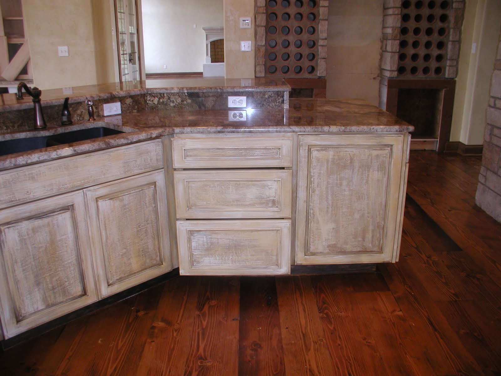 white distressed kitchen cabinets scales country kitchens for traditional taste home and