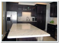 White Cabinets Dark Countertops Details | Home and Cabinet ...