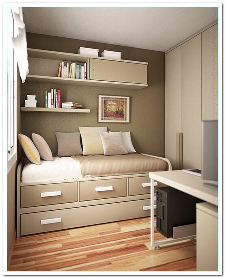 Modern Bedroom and Livingroom Decoration