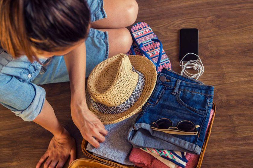 Una maleta + equipaje de mano