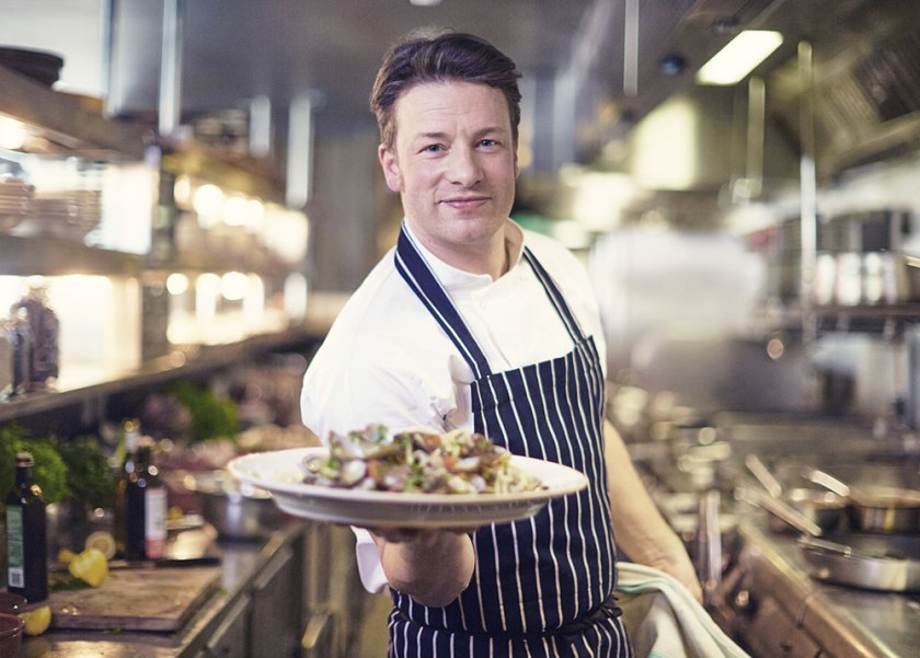Jamie Oliver.-  Chef de Comida Saludable