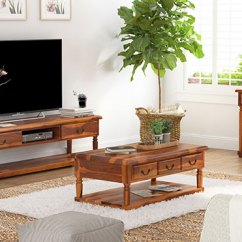 Wood Living Room Furniture Built In Units Solid