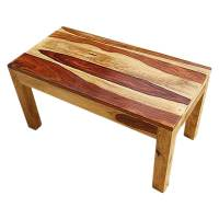 Mission Style Solid Wood Rectangular Coffee Table