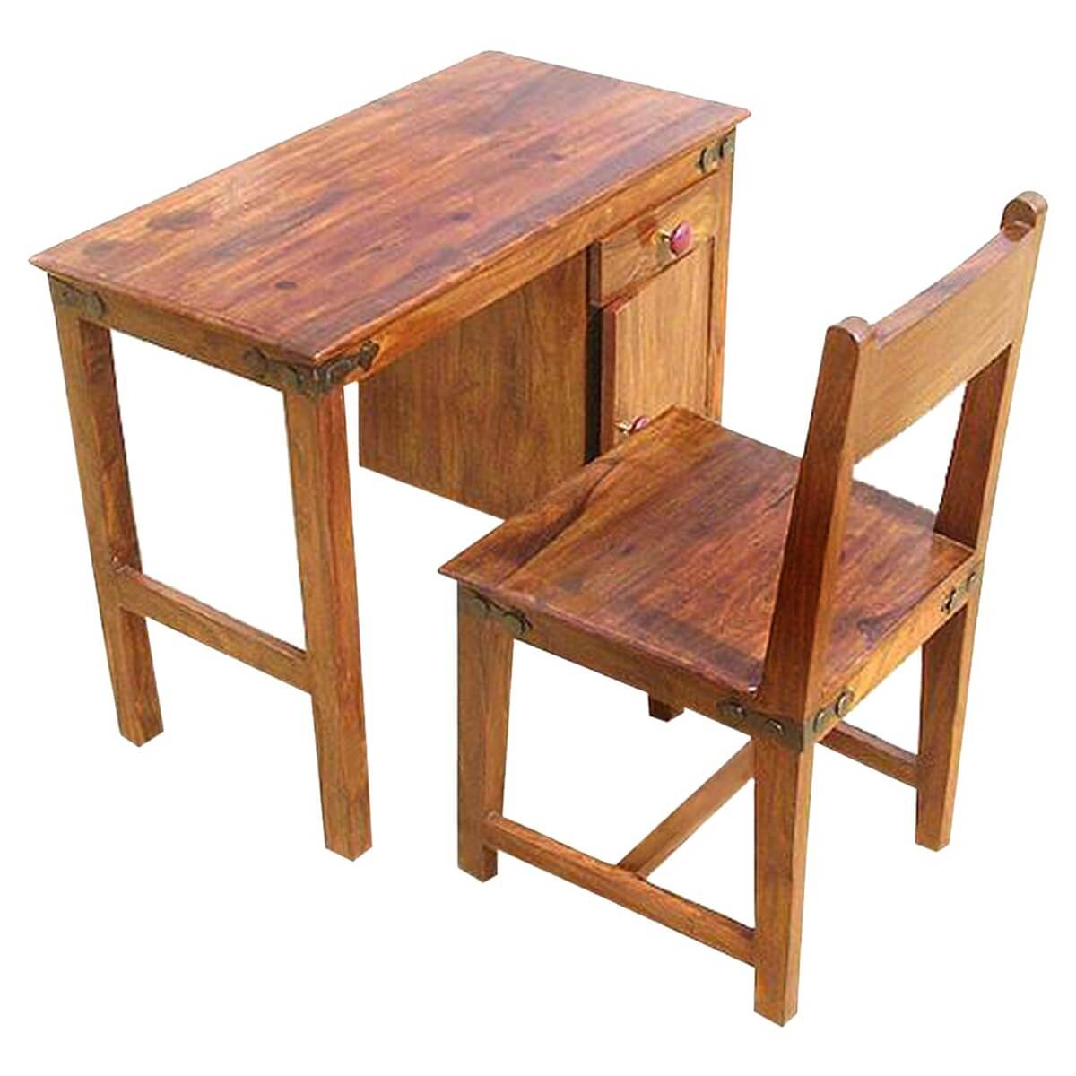 desk with chair elegance wedding covers solid wood student writing study table set