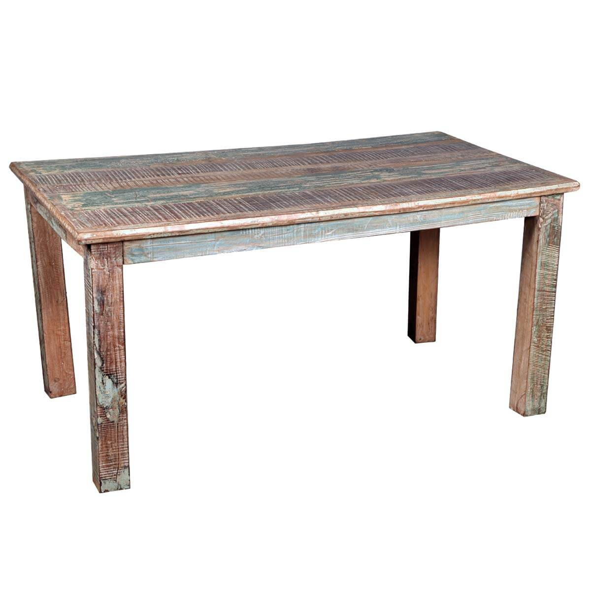 distressed kitchen table cabinet warehouse rustic reclaimed wood dining