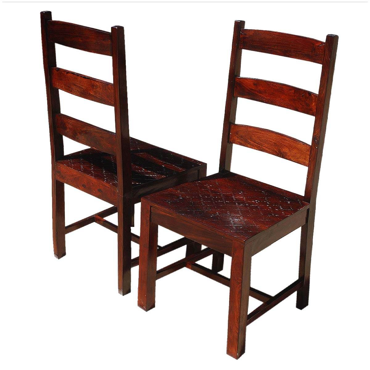 unfinished ladder back chairs vermont made rocking oklahoma farmhouse solid wood set of 2