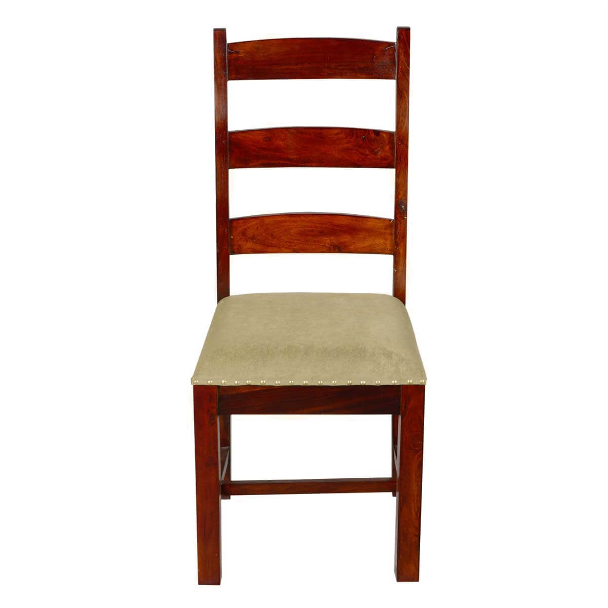 unfinished ladder back chairs upholstered modern dining traditional solid rosewood side