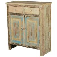 Dellroy Rustic Reclaimed Wood Free Standing Storage Cabinet