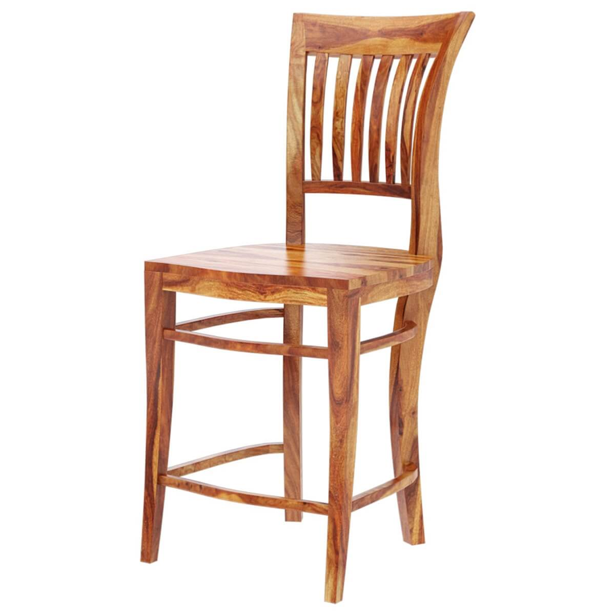 tall back dining chairs mesh lawn santa cruz solid wood chair