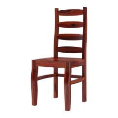 Ladder Back Dining Chairs Diy Wingback Chair Covers Minsk Rustic Traditional Rosewood
