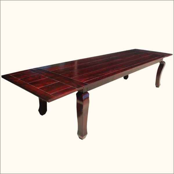 144quot Large Dining Room Extendable Table Solid Wood