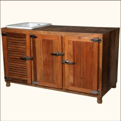 Kitchen Buffet Storage Cabinet Best Rated Cabinets Rustic Solid Wood And Ceramic Wine Bottle
