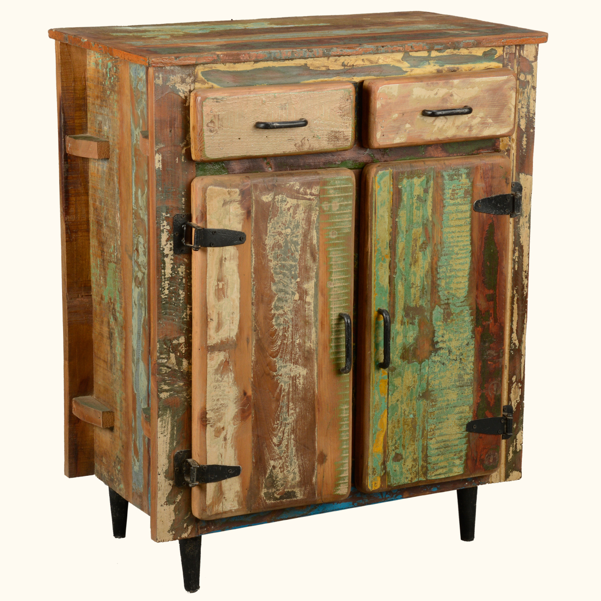 kitchen buffet storage cabinet decor sets reclaimed old wood rustic utility