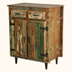 Kitchen Buffet Storage Cabinet Countertops Quartz Reclaimed Wood Rustic Utility