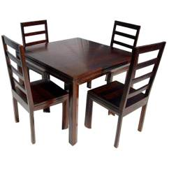 Transitional Dining Chairs Outdoor Rocking Chair Woodworking Plans Solid Wood Table And Set