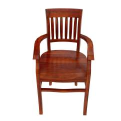 Wooden Dining Room Chairs With Arms Chair Stand Test Rehab Measures Siena Rustic Solid Wood Arm