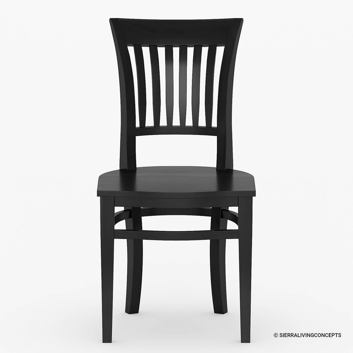 solid wood chairs morris chair cushions sierra nevada kitchen side dining furniture