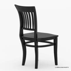 Solid Wood Chairs Soccer Mom Covered Sierra Nevada Kitchen Side Dining Chair Furniture