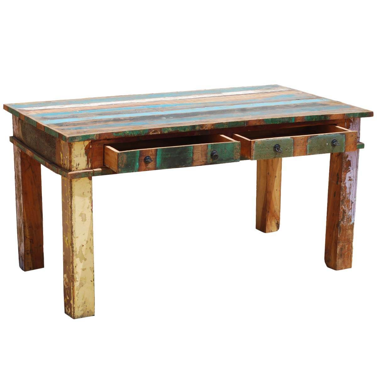 barnwood dining room chairs relax the back office reclaimed wood rustic table furniture