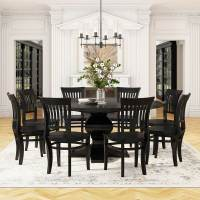 Sierra Nevada Large Round Rustic Solid Wood Dining Table ...