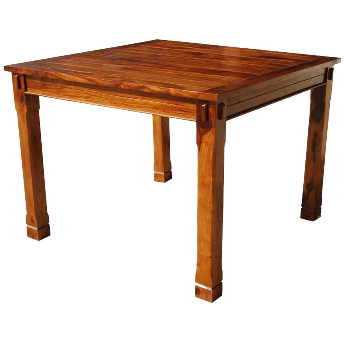 Portland Contemporary Solid Wood Square Kitchen Table