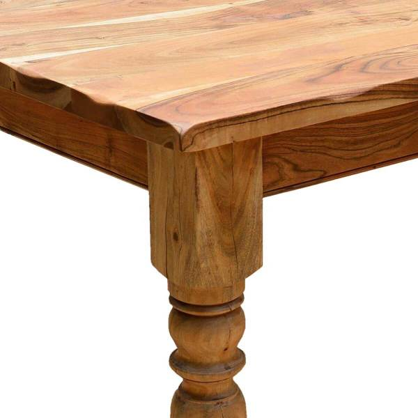 Rustic Wood Farmhouse Dining Table Sets