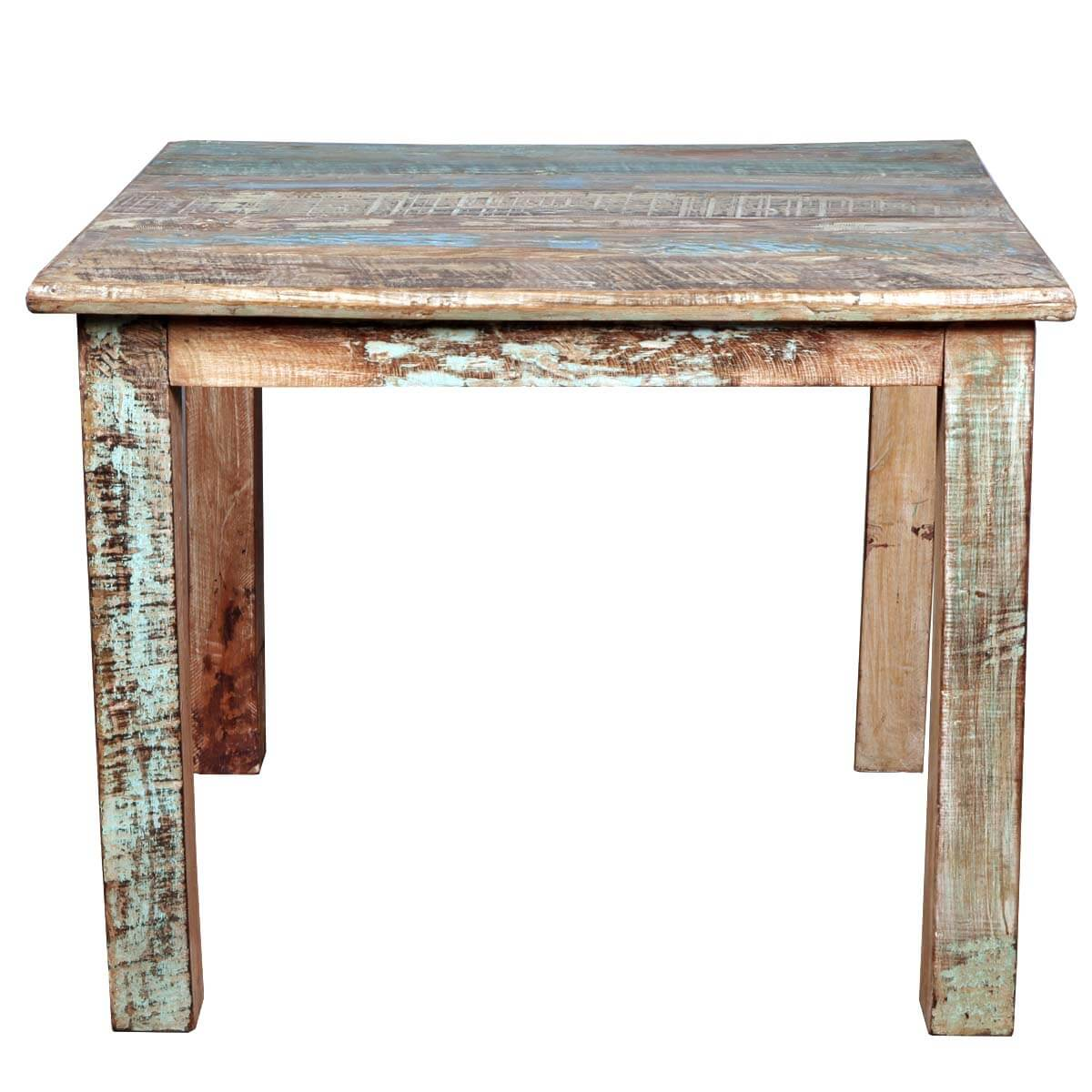 small wood kitchen table farm sinks rustic reclaimed distressed dining