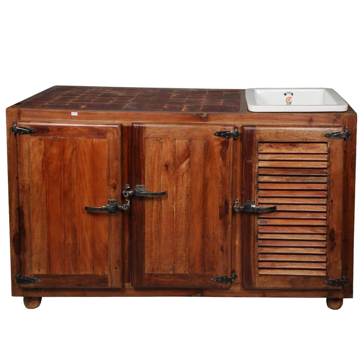 teak kitchen cabinets mobile rental old fashioned wood sink cabinet