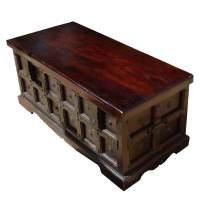 Beaufort Kokanee Gothic Solid Wood Standing Coffee Table Chest