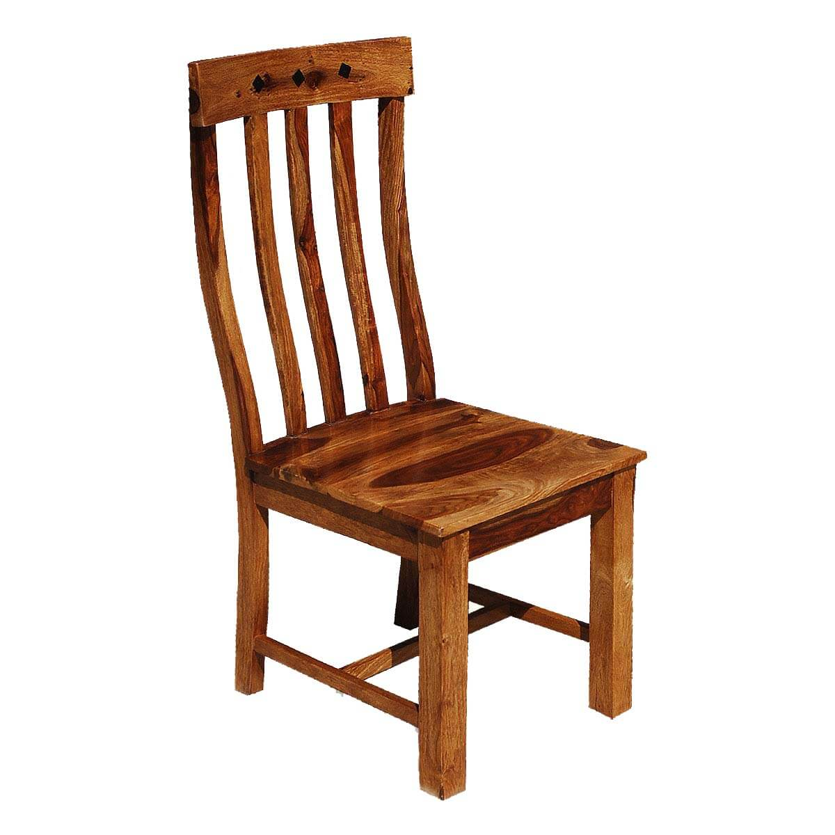 wooden school chairs cheap throne chair for sale oklahoma farmhouse solid wood back set of 2