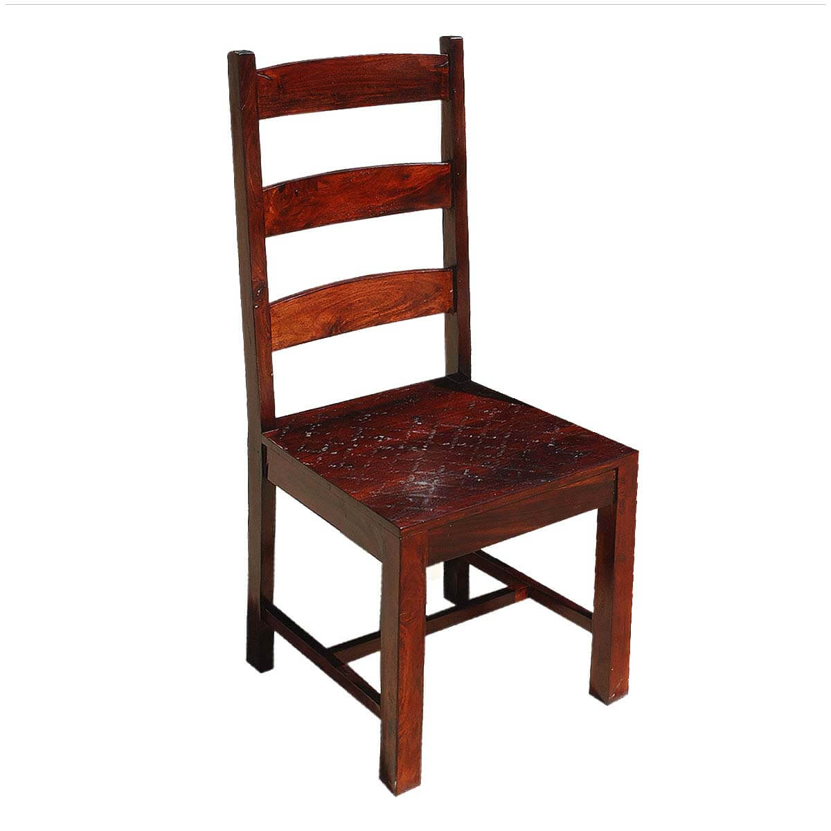 unfinished ladder back chairs swivel bar with backs oklahoma farmhouse solid wood set of 2