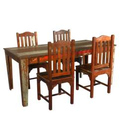 Barnwood Dining Room Chairs Plastic Outdoor Stackable Reclaimed Wood Table With Mission