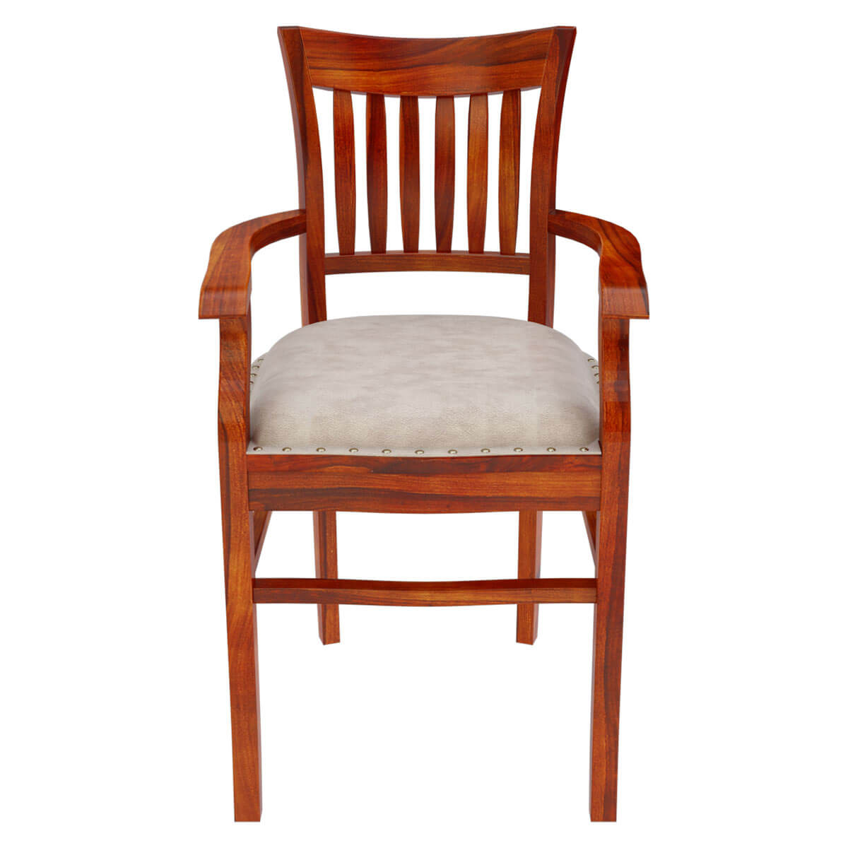 large dining chair pads plastic deck chairs australia chantilly chic handcrafted rosewood leather cushion