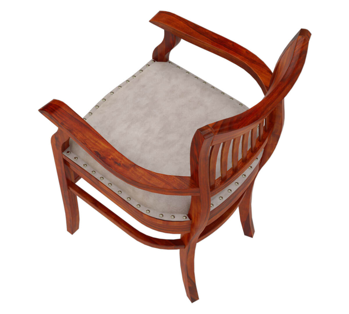 leather chair cushions best chairs recliner solid wood arm cushion dining furniture