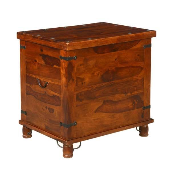 Kokanee Rustic Storage Trunk Box Side End Table