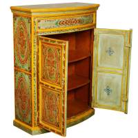 Manorhaven Hand Painted Mango Wood Storage Console Hall ...