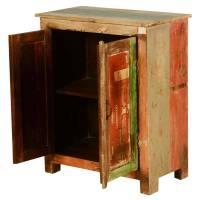Pinkham Rustic Reclaimed Wood Free Standing Storage Cabinet