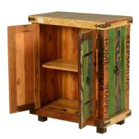Seminole Rustic Reclaimed Wood Freestanding Storage Cabinet