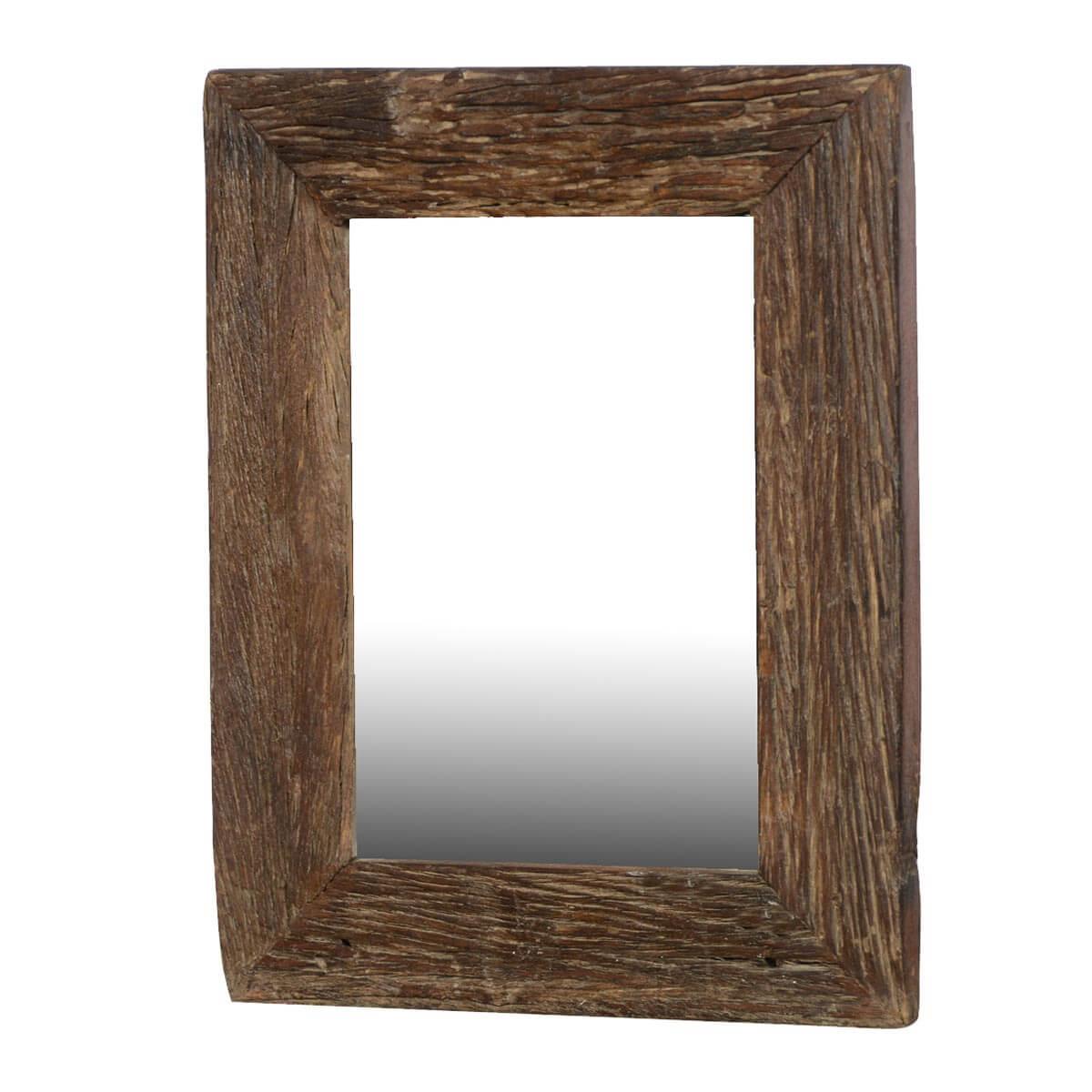 Appalachian Rustic Reclaimed Wood 23.5 Wall Mirror Frame
