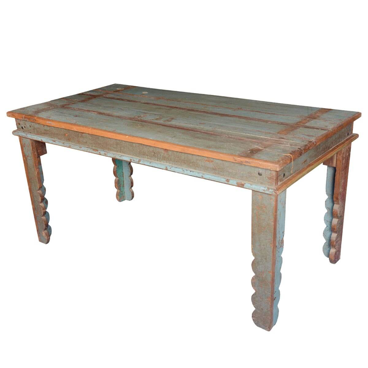 distressed kitchen table cabinets michigan appalachian rustic reclaimed wood pastel